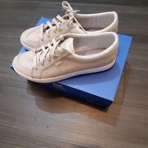 Keds Dream Foam Memory Gray Chambray Sneakers